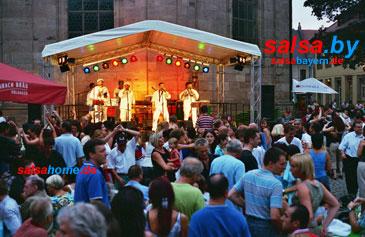 Altstadtfest in Erlangen: Salsa-Konzert 2006
