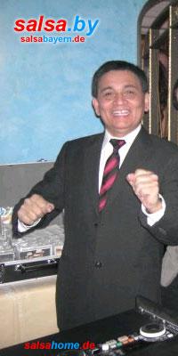 DJ Alberto Sagastegui in München am 31.12.2009