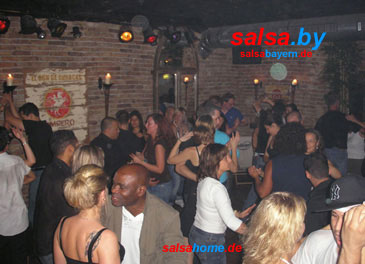Fogon in Nürnberg (Area 2): Salsa-Tanz-Party am 9.9.2006 (Foto: Fogon)