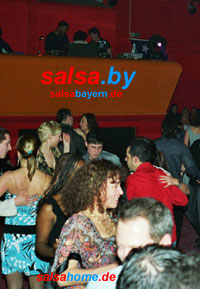 Jam-Club in Nürnberg - Salsa-Party