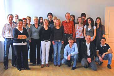 Salsa classes in Bamberg: Group photo at the Studio 13