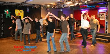 Salsa-Kurse in Erlangen: Diskothek im E-Werk