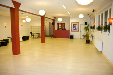 Salsa dance classes in Fuerth: Dance floor at Partyloft 2