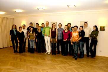 Salsa-Tanzkurs in Nürnberg: Gruppenfoto im Hotel Cristal