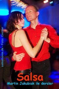 Martin Jakubiak ile salsa dersler