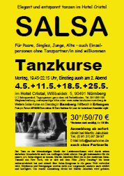 Salsa Classes Nuremberg - Flyer
